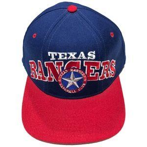 Starter Texas Rangers Throwback Snapback Hat